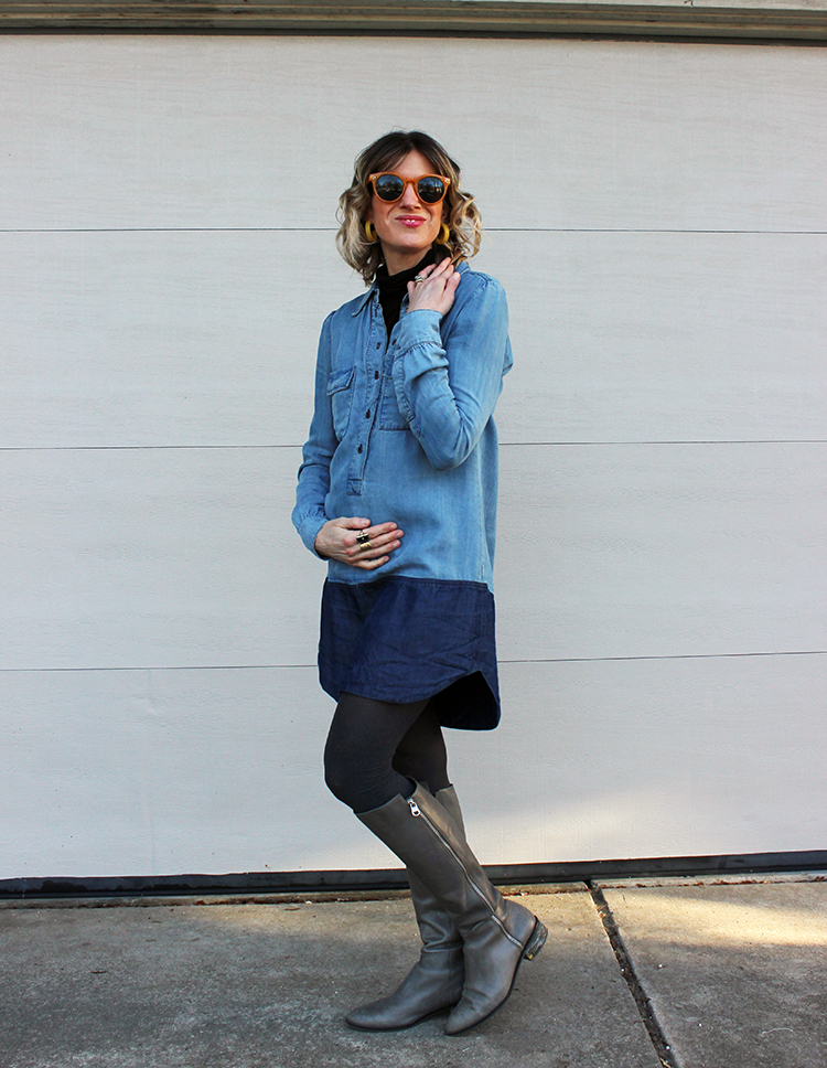 First Trimester Capsule Wardrobe
