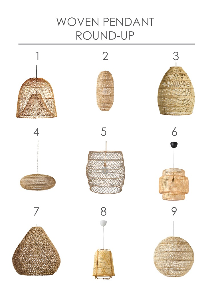 Woven Pendant Round-up