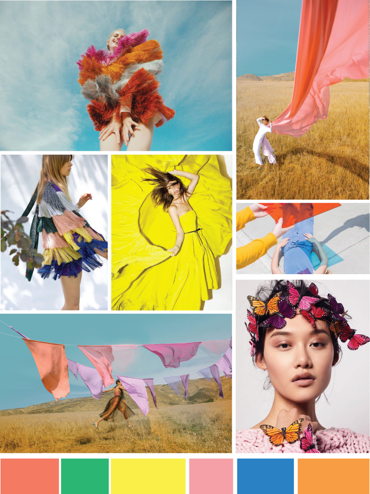 Spring Editorial Mood Board