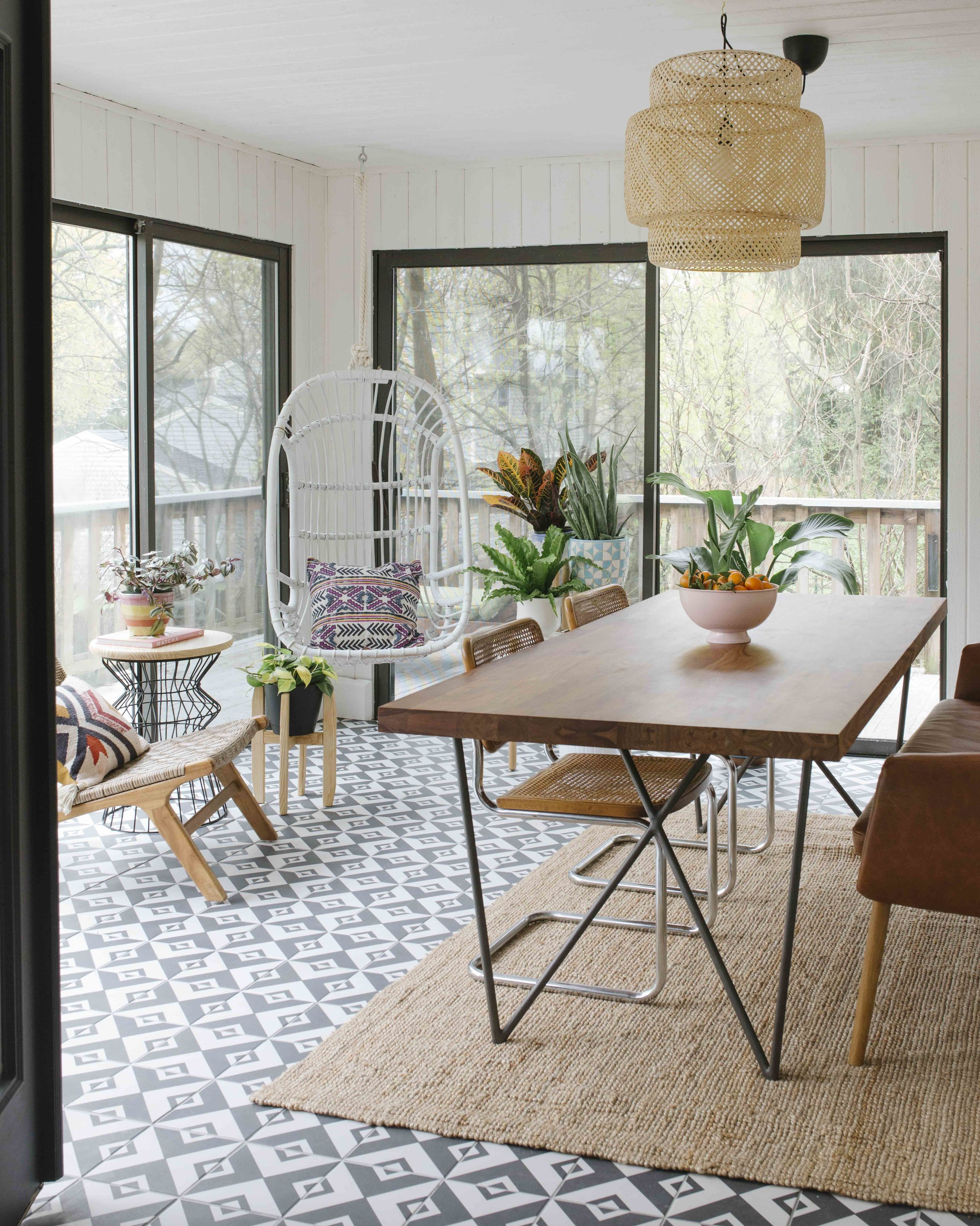 Lauren Koster Creative Sunroom Makeover