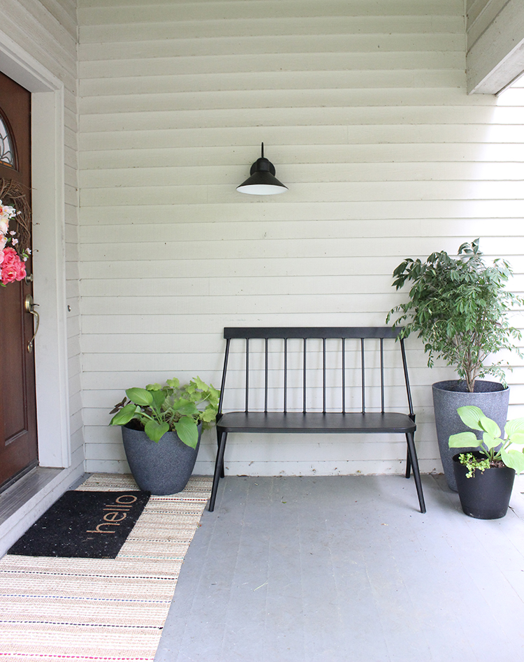 Modern Front Porch Decor