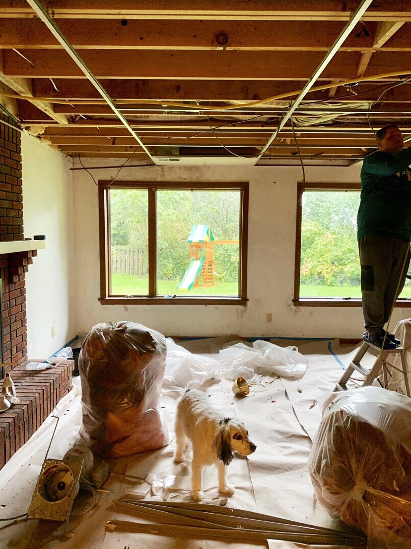 How To Remove  A Basement Drop Ceiling