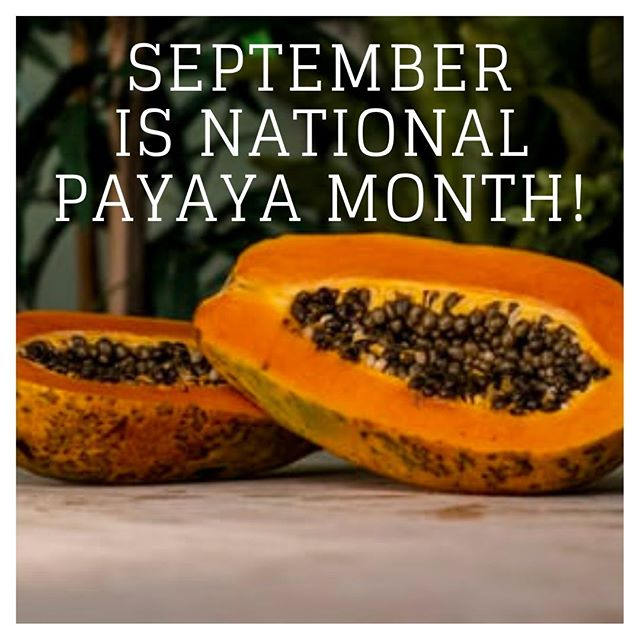 September is National Papaya Month! Here are 11 great benefits of a papaya!⁠ 1. Lowers cholesterol⁠ 2. Helps in weight loss⁠ 3. Boosts your immunity⁠ 4. Good for diabetics⁠ 5. Great for your eyes⁠ 6. Protects against arthritis⁠ 7. Improves digestion⁠ 8. Helps ease menstrual pain⁠ 9. Prevents signs of aging⁠ 10. Prevents cancer⁠ 11. Help reduce stress⁠ ⁠  #papaya #healthy #fruit #cleaneating #vegan #smoothie #mango #coconut #pineapple #breakfast #organic #plantbased #food #fresh #foodie #nongmo #healthyfood #tropical #turmeric #eatclean #fruits