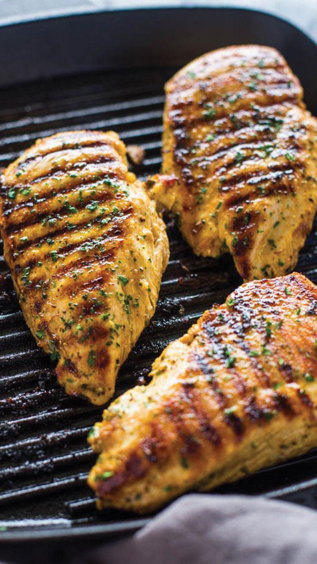 CHICKEN - Classic chicken fried steak, steak cutlets, pounded thin, breaded, fried.