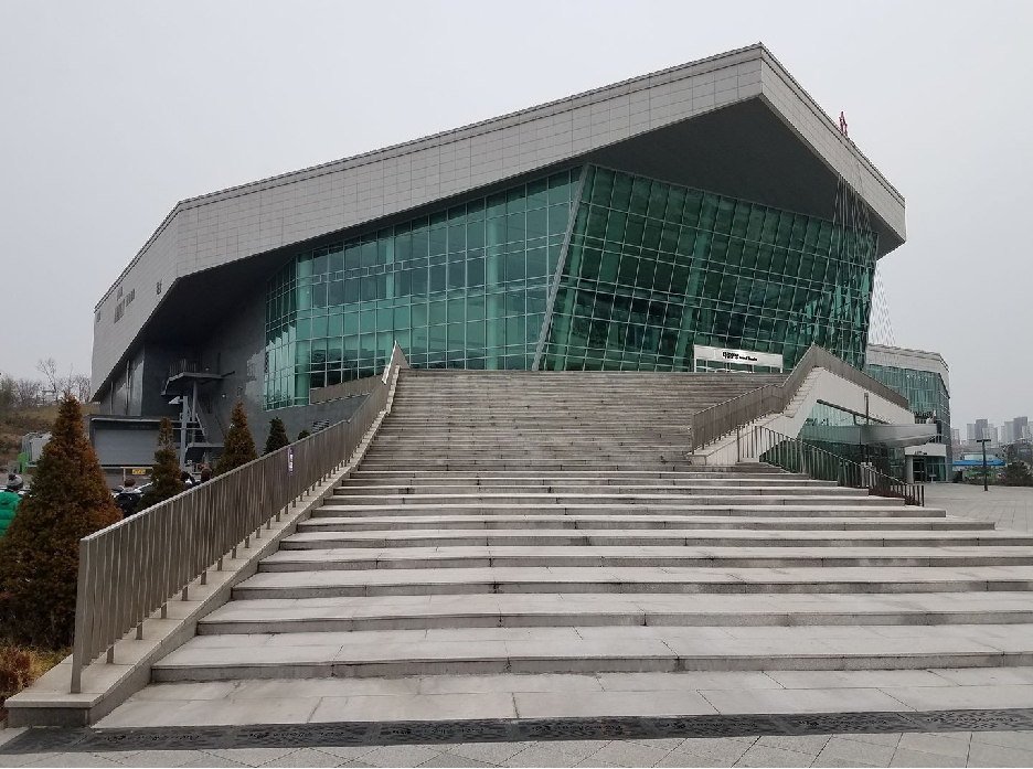 The Gunsan Arts Center – quite a sight!