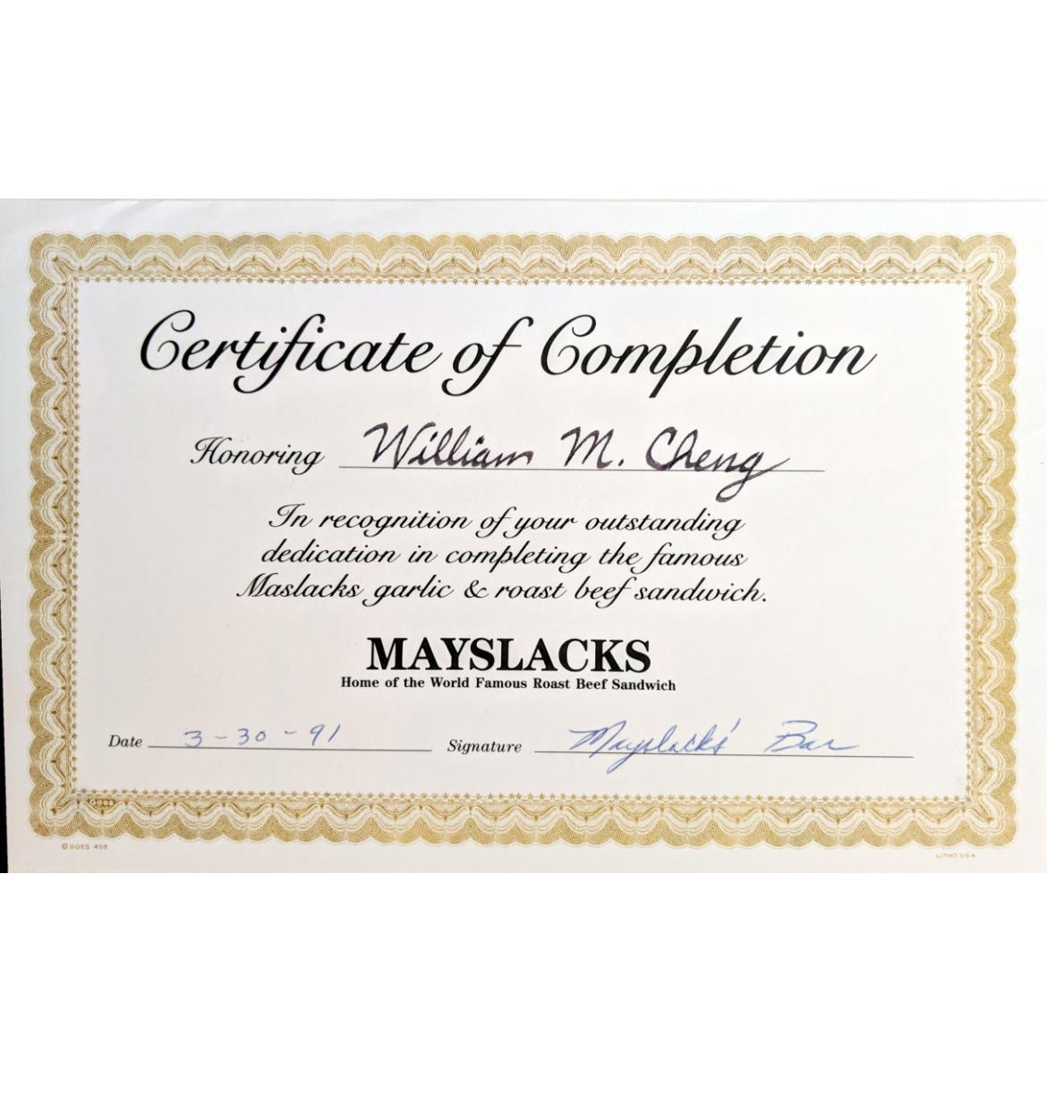 Mayslacks 91