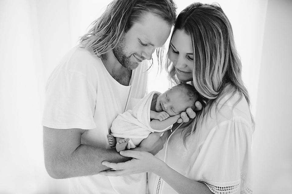 New parents-Melbourne newborn photography
