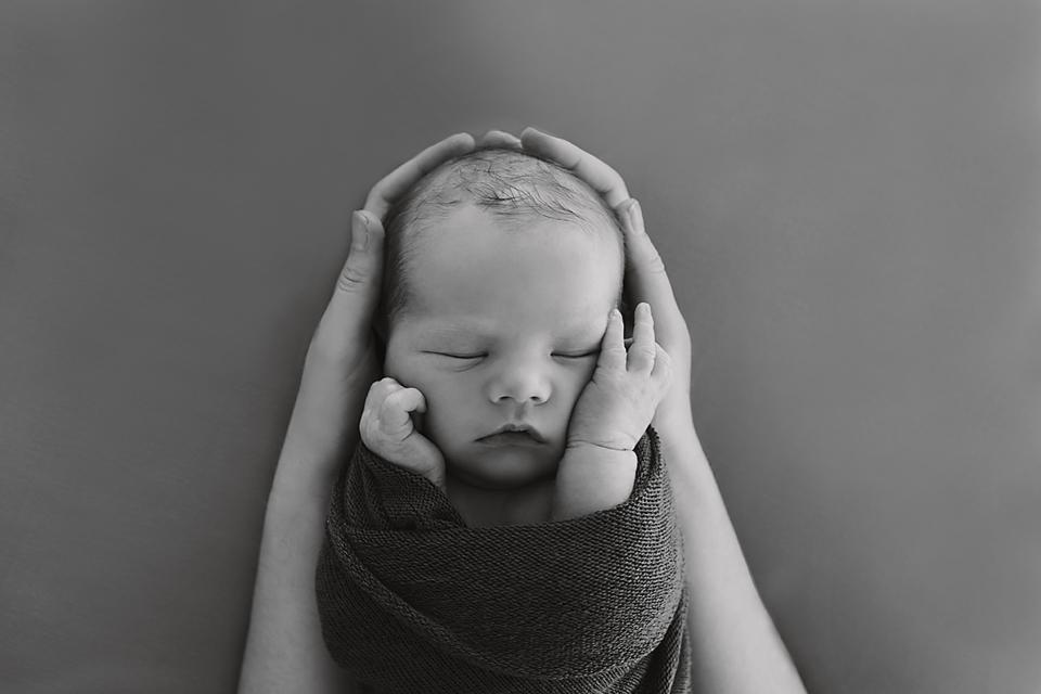 Baby boy - natural melbourne newborn photography