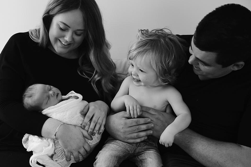 Family - Melbourne newborn photographer
