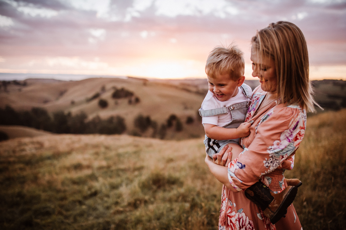 play - laughs - mum and son - family photography - South Gippsland