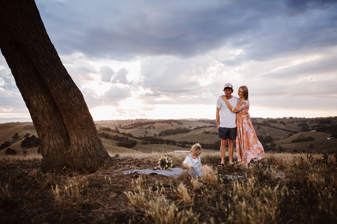 Family picnic - South Gippsland - Family photographer