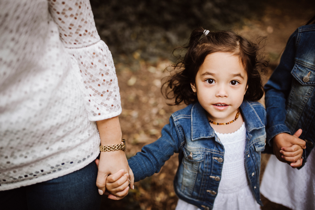 Melbourne family photographer - portrait - hands - connection