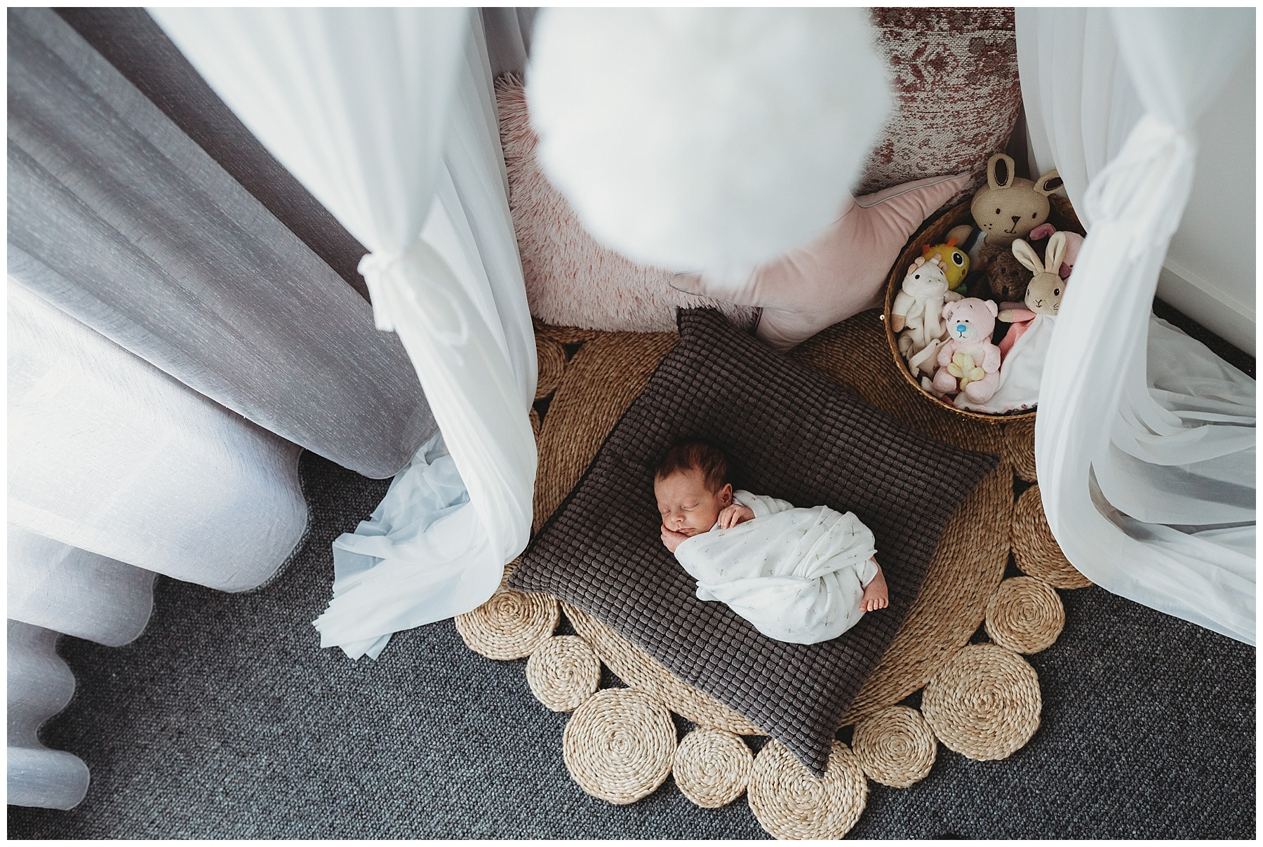 nursery decor - melbourne newborn photographer