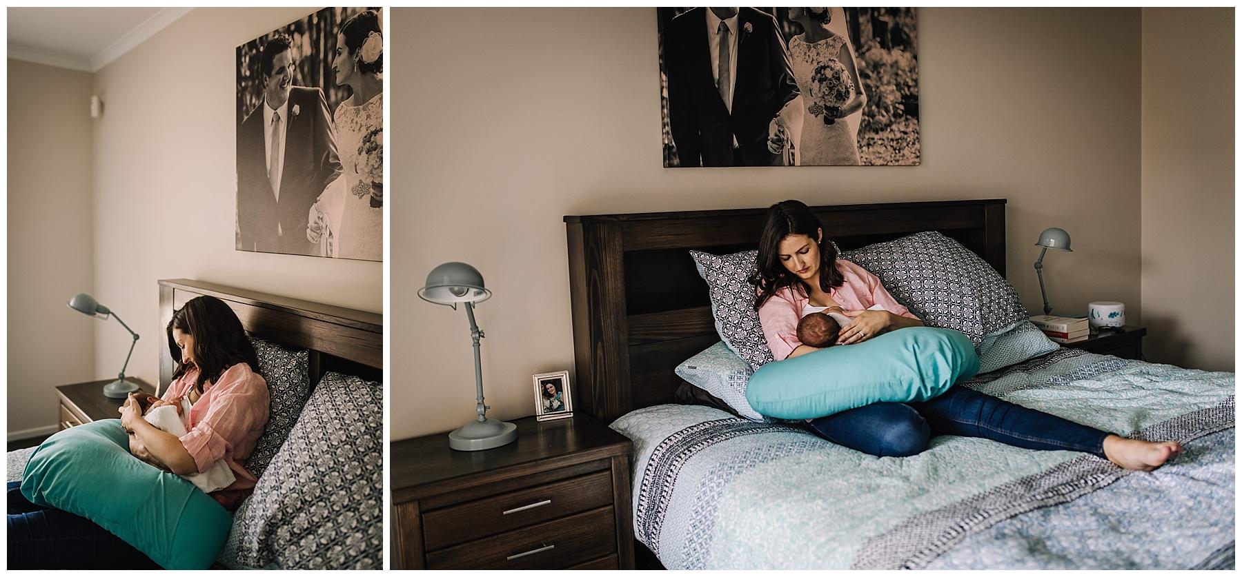 Leongatha newborn photographer - south gippsland - lifestyle