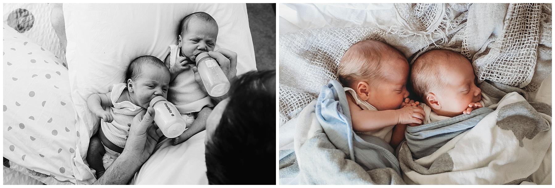 South Gippsland Newborn photographer - twins - berwick