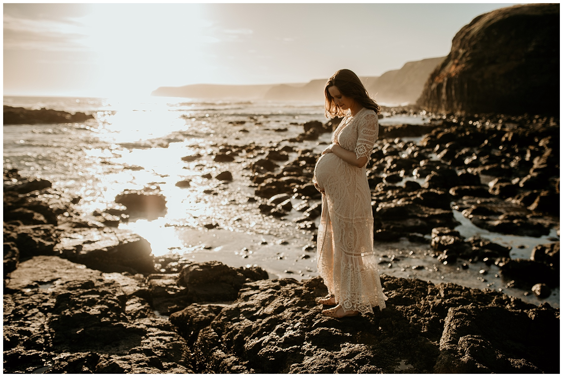 frankston maternity photography