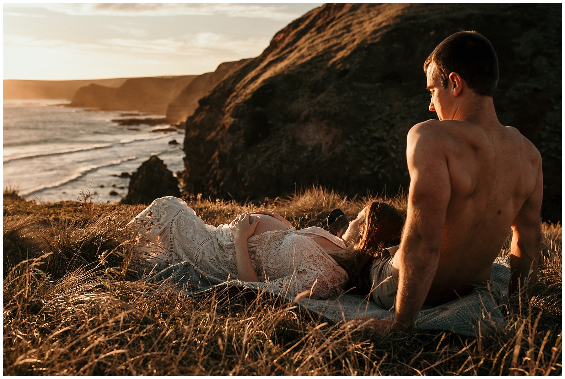 mornington peninsula maternity photography