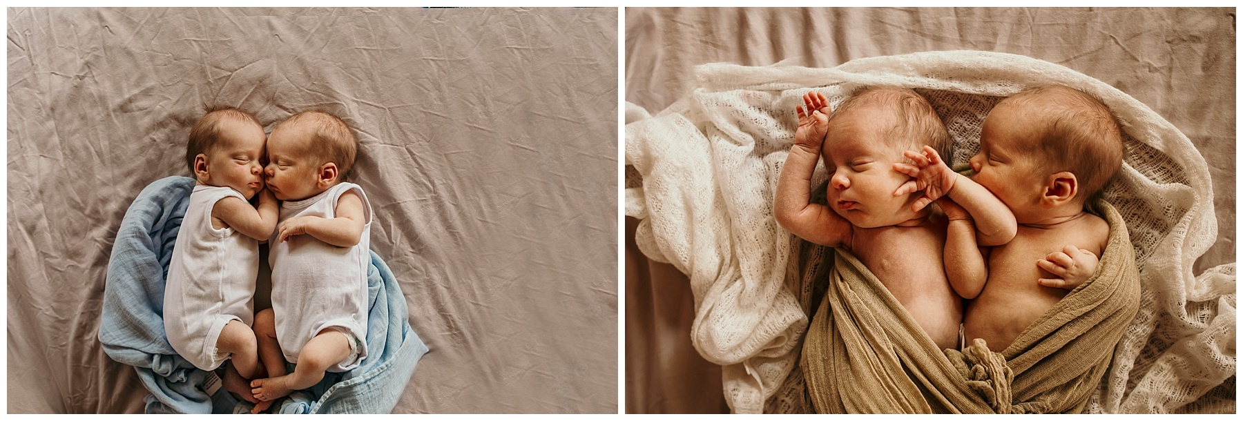 inverloch newborn photographer - twins - details