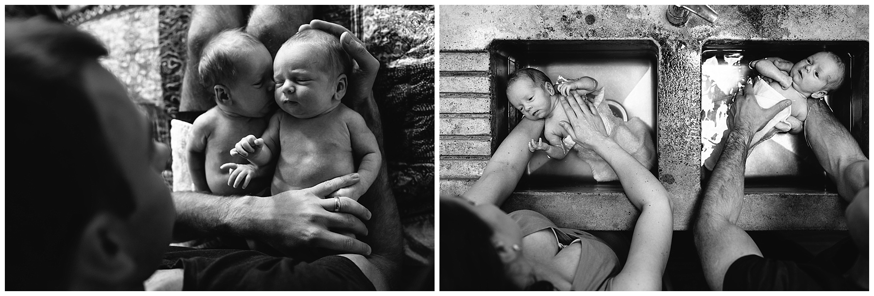berwick newborn photography - lifestyle - twins