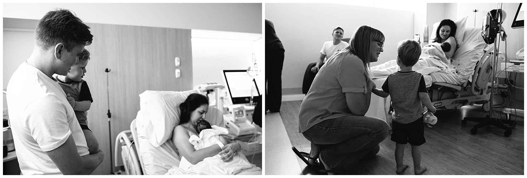 birth - warragul birth photography- siblings