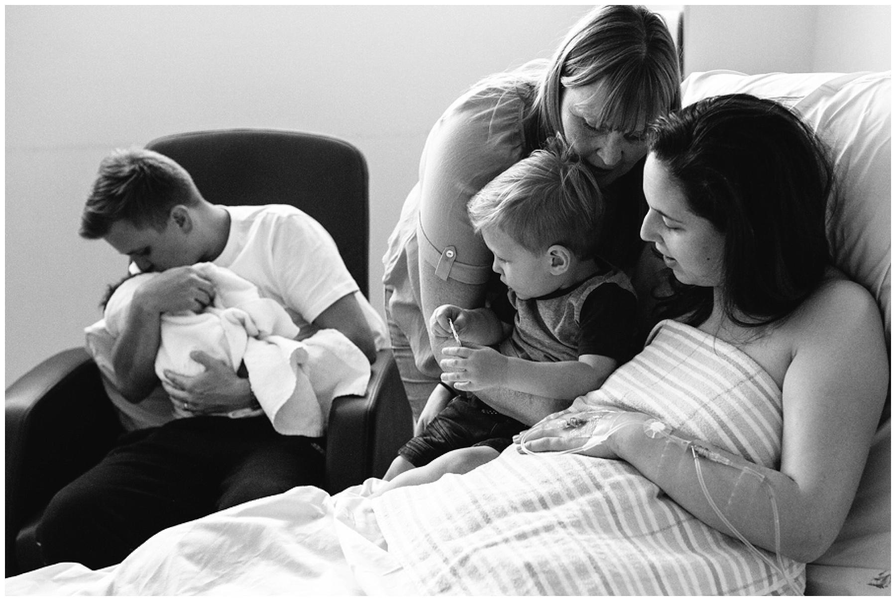 birth - berwick birth photography - family