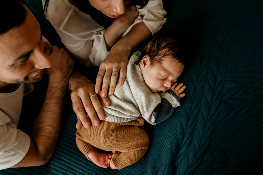in home newborn photography - melbourne