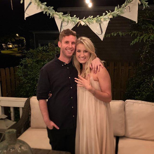 WE GOT ENGAGED!!!!! I love you @laurenrandall — best birthday ever 😊#LRJx2