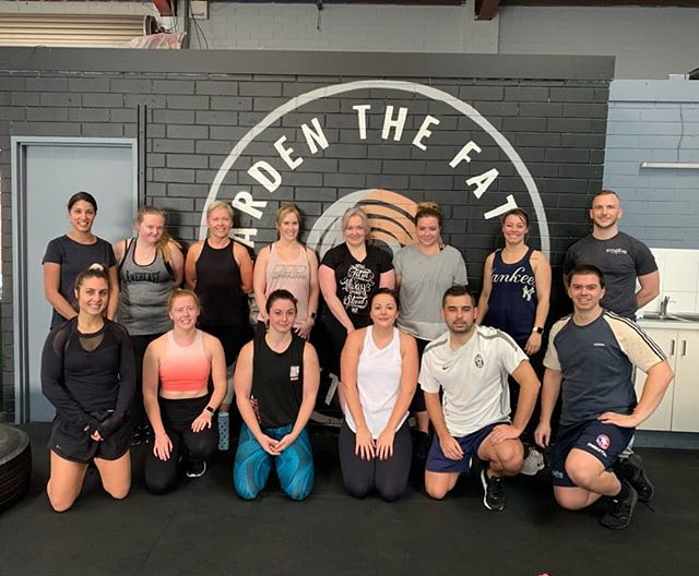 815am Saturday morning HIIT crew 💪🏼 everyone smashed it today! Well done 🤸‍♂️🤸‍♀️ Hope everyone has a relaxing long weekend 😁🙌🏻