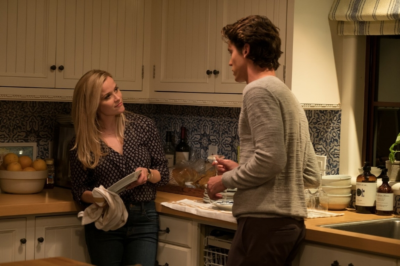 Reese Witherspoon and Pico Alexander make an attractive inter-generational sandwich.