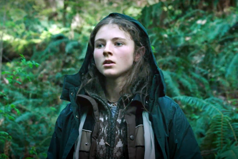 Thomasin McKenzie   is a breakout in  Leave No Trace.