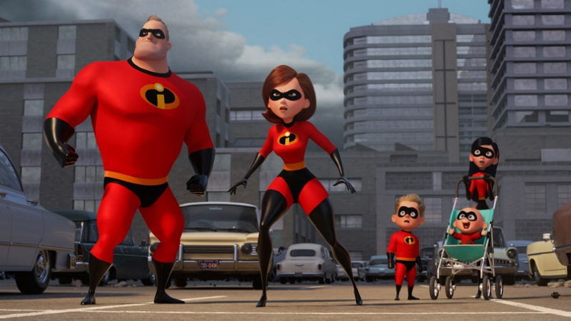 The family that works together stays together: The Incredibles continue living up to their name.