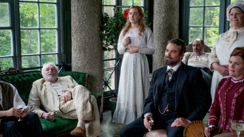 Spoiler alert! Saoirse Ronan is The Seagull. Before you glean how or why, you'll be asleep.