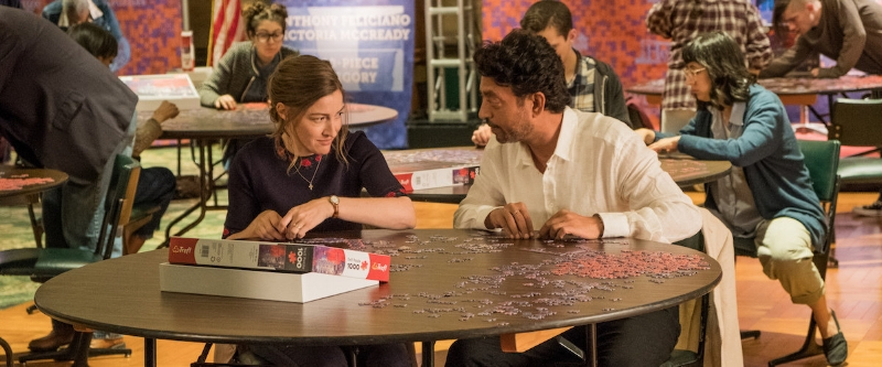 Kelley Macdonald and Irrfan Khan pretend to think outside the box even though they don't really.
