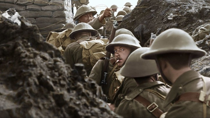 A post-technicolor look at life in the trenches.