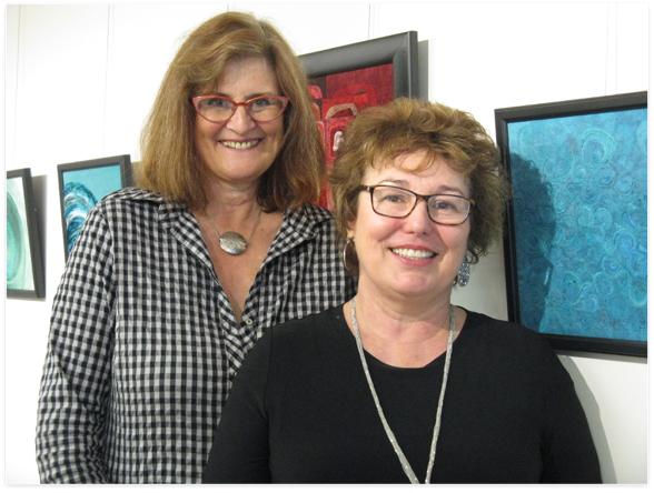 Lesley Turner and Sarah McLaren