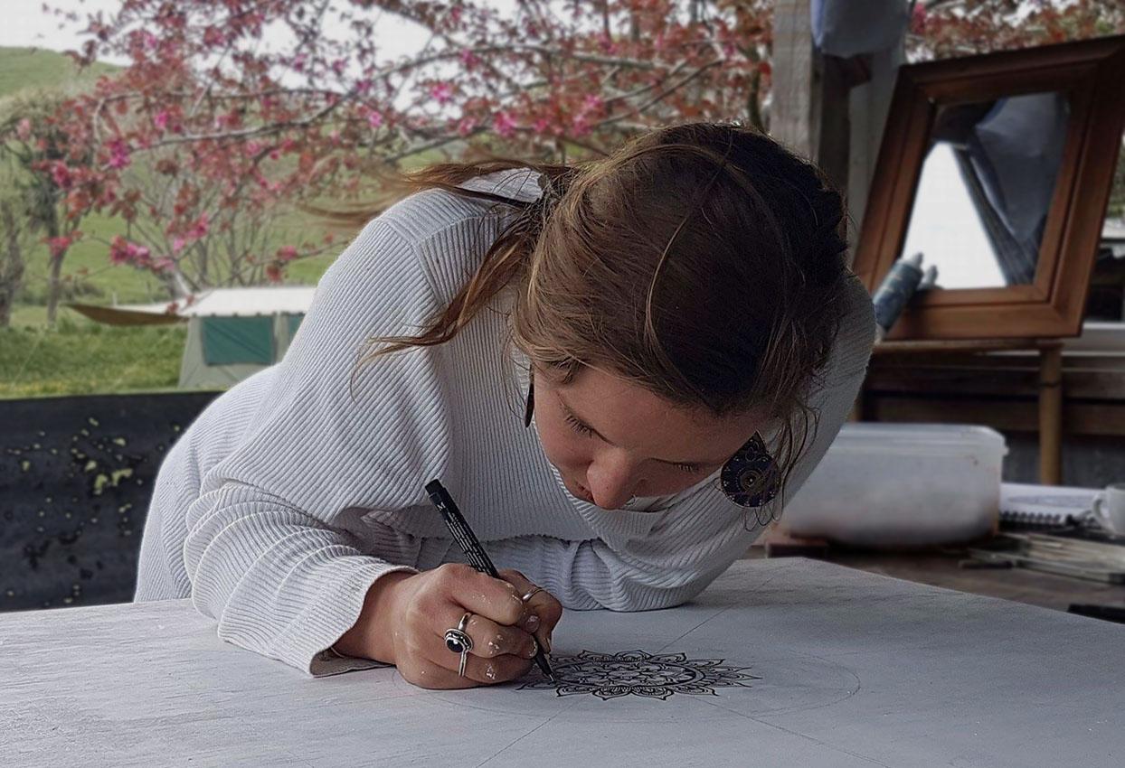 ILLUSTRATION - Mandalas / Watercolour / Tattoo Design