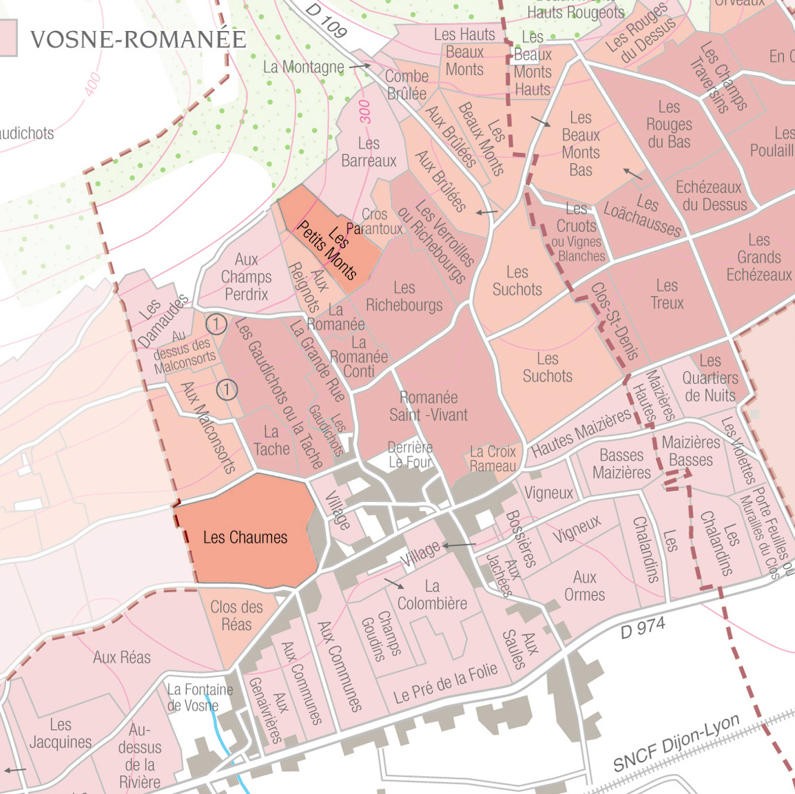Vosne-Romanée 1er Cru - This cuvée of Vosne-Romanée Premier Cru is a blend of two plots situated in
