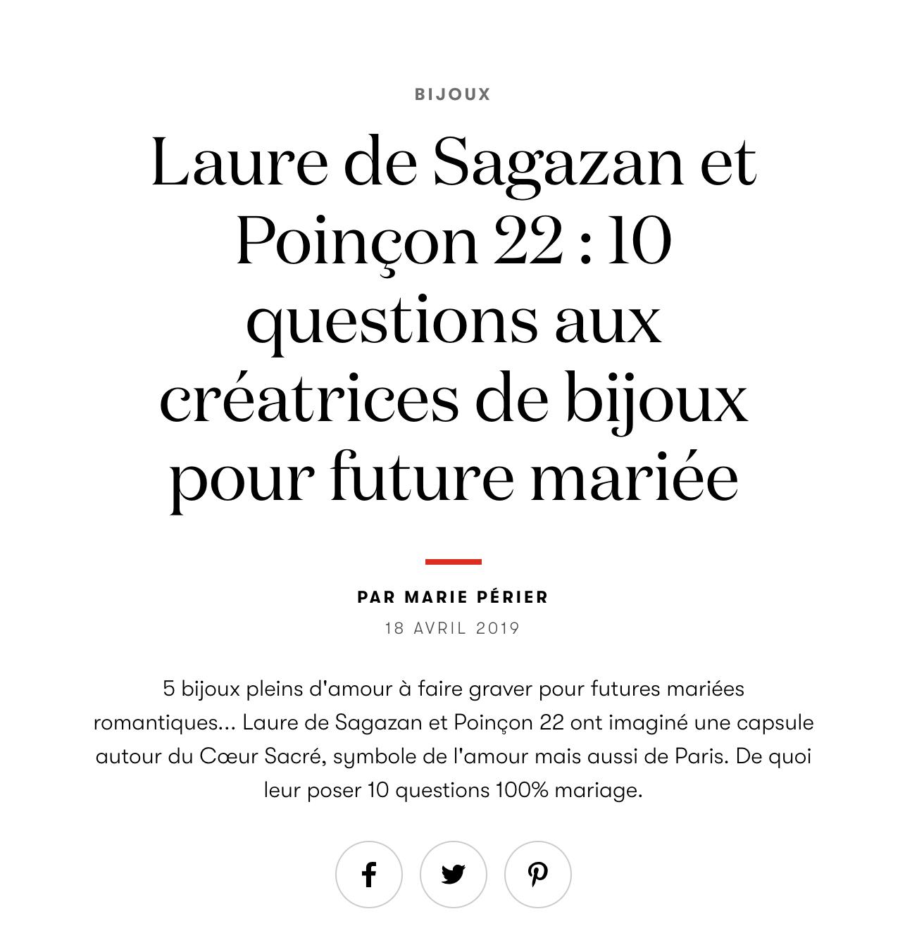 Vogue.fr - Avril 2019