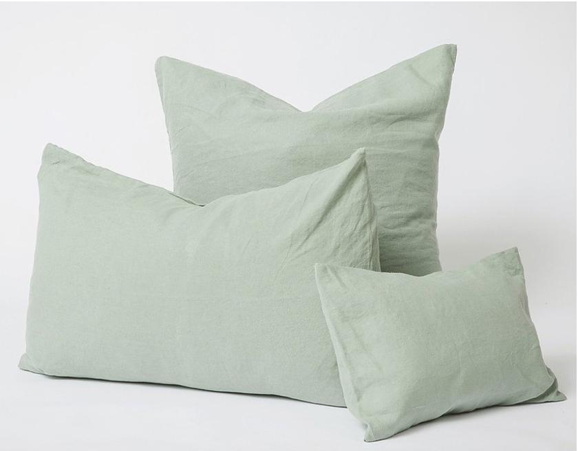 Les Minis Linen Cushions Sage - Cultiver - $50.00