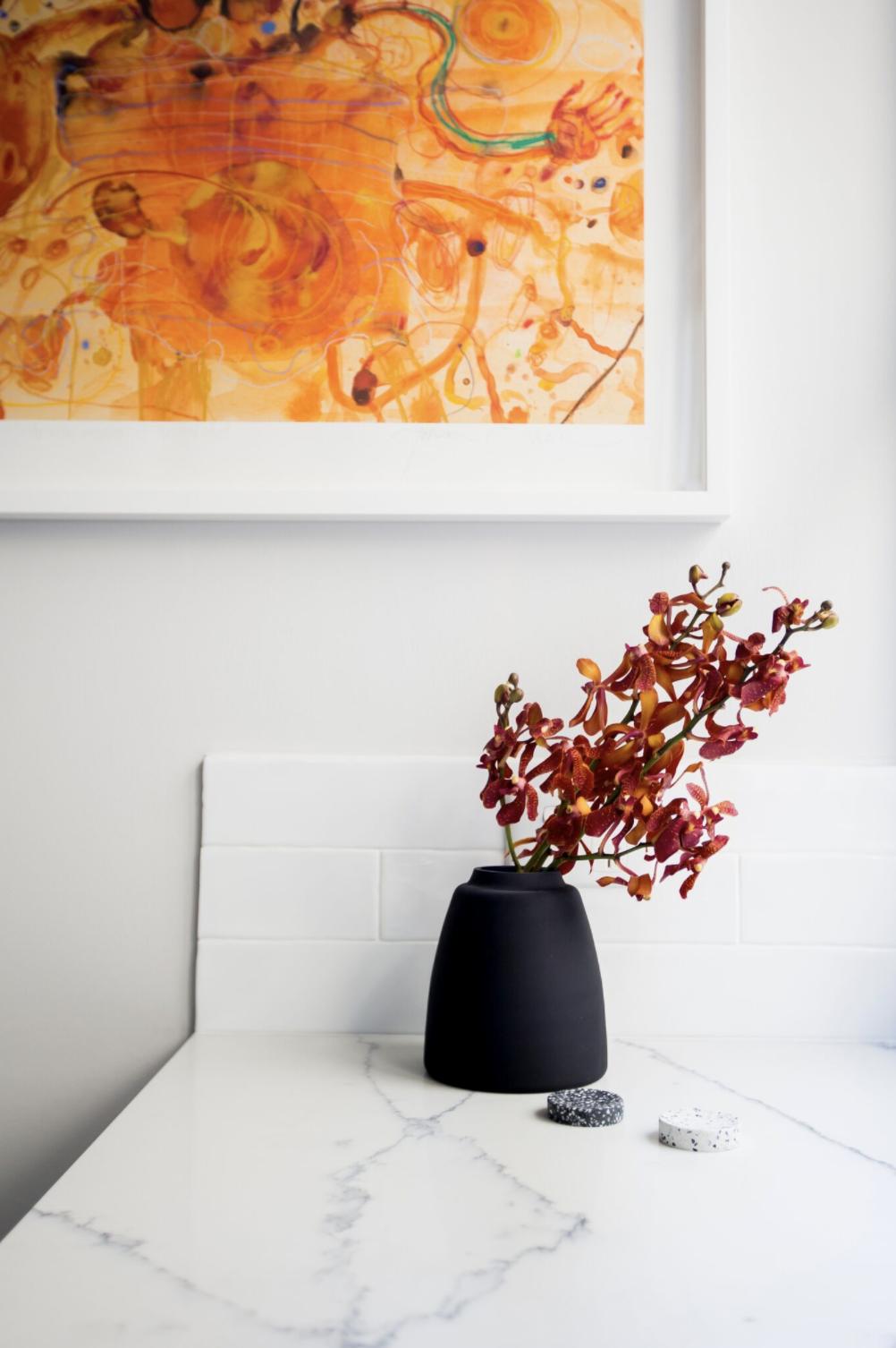 Ormond Terrace. Photographer Heather Fletcher.Interiors by Kate Leabeater