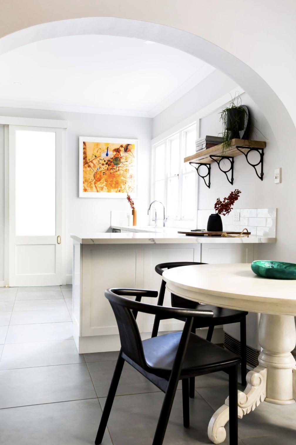 Ormond Terrace. Photographer Heather Fletcher, Interiors by Kate Leabeater