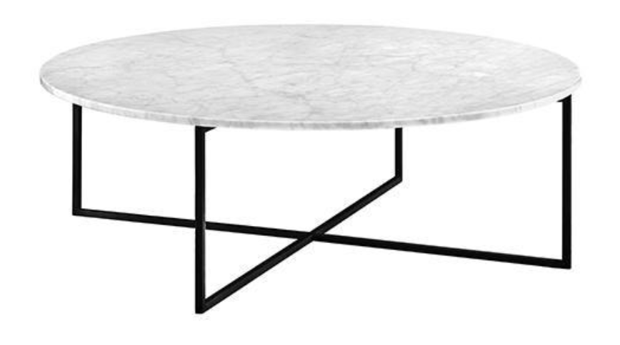 Elle Luxe Round Coffee Table - Globe West