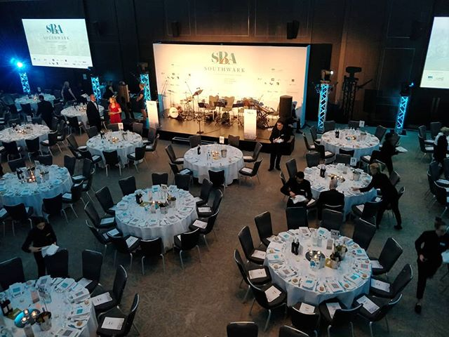 Attending the Southwark Business Excellence Awards #southwarkawards