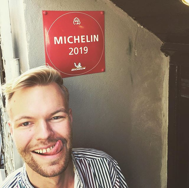 Better late than never! We love our Michelin Bib Gourmand #michelin #bibgourmand #visitcopenhagen #snaregade #marvogben #valueformoney