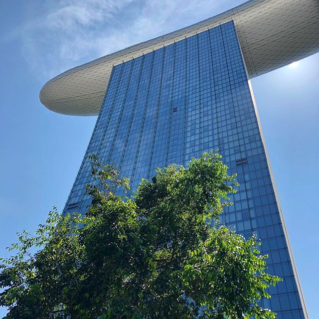 Welcome to the future.👾🙌 Pic: @worldofleedham . . . . . . #singaporesling #accorhotels_apac #jaansg #feelwelcome #qantas #qantasairways #qantastravelinsider #PassionMadePossible #VisitSingapore #karryontravel #Singapore #marinabaysands #marinabay #architecture #architecturephotography #architecturelovers #architectureporn #marinabaysingapore