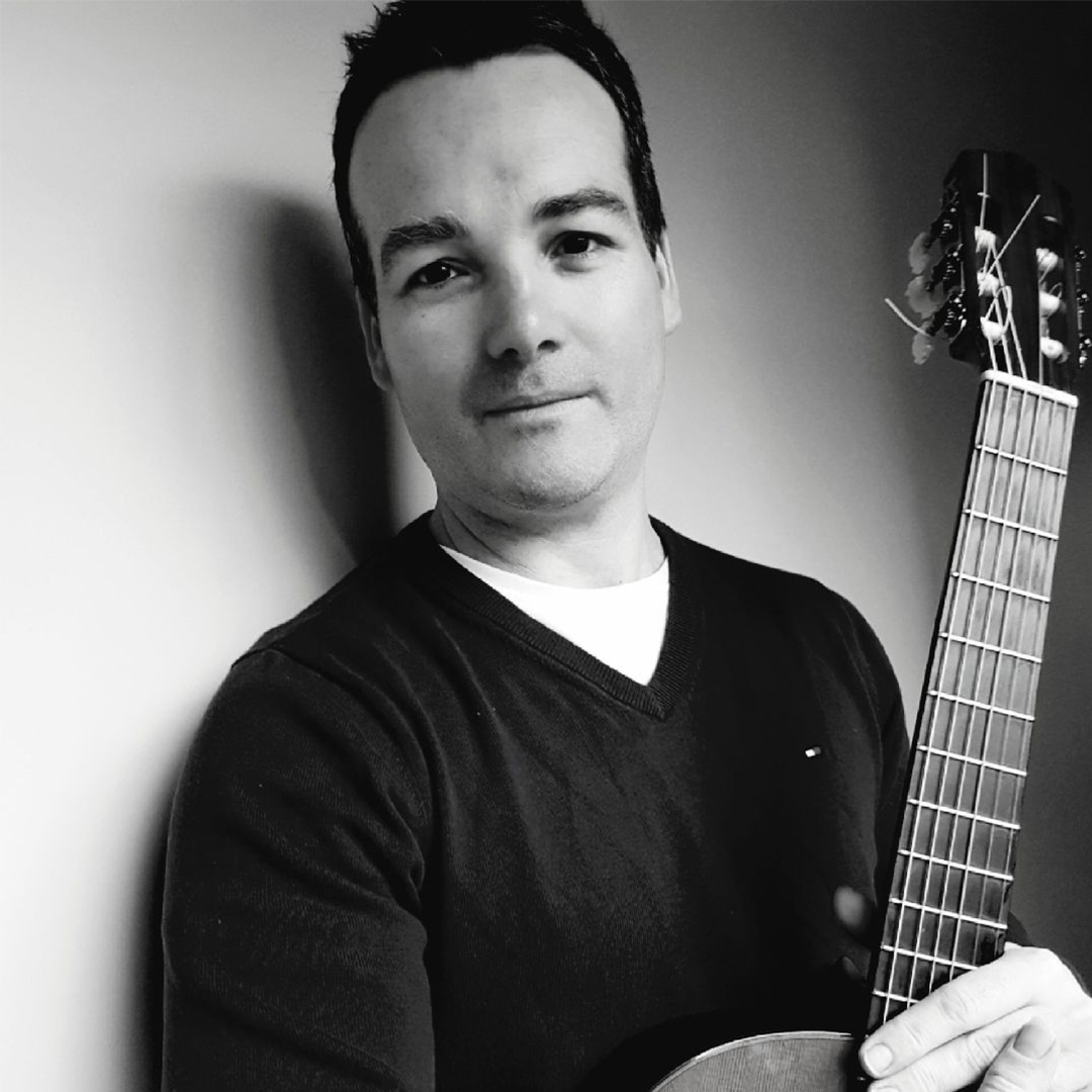 I have been playing guitar for 29 years. I started my first classical guitar lessons at Music Corner (old site) around 1990, at the age of 16. I learnt other styles also and was heavily influenced by Joes Satriani in my early years and players of similar ilk.   I Graduated from Adelaide Conservatorium of Music in 2012 in Performance. Classical Guitar.