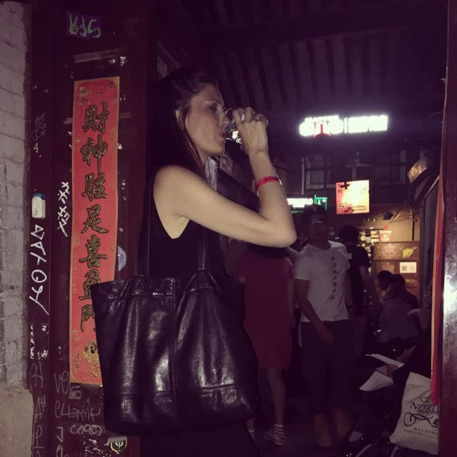 After the gig #Mia #MavenGraceInChina
