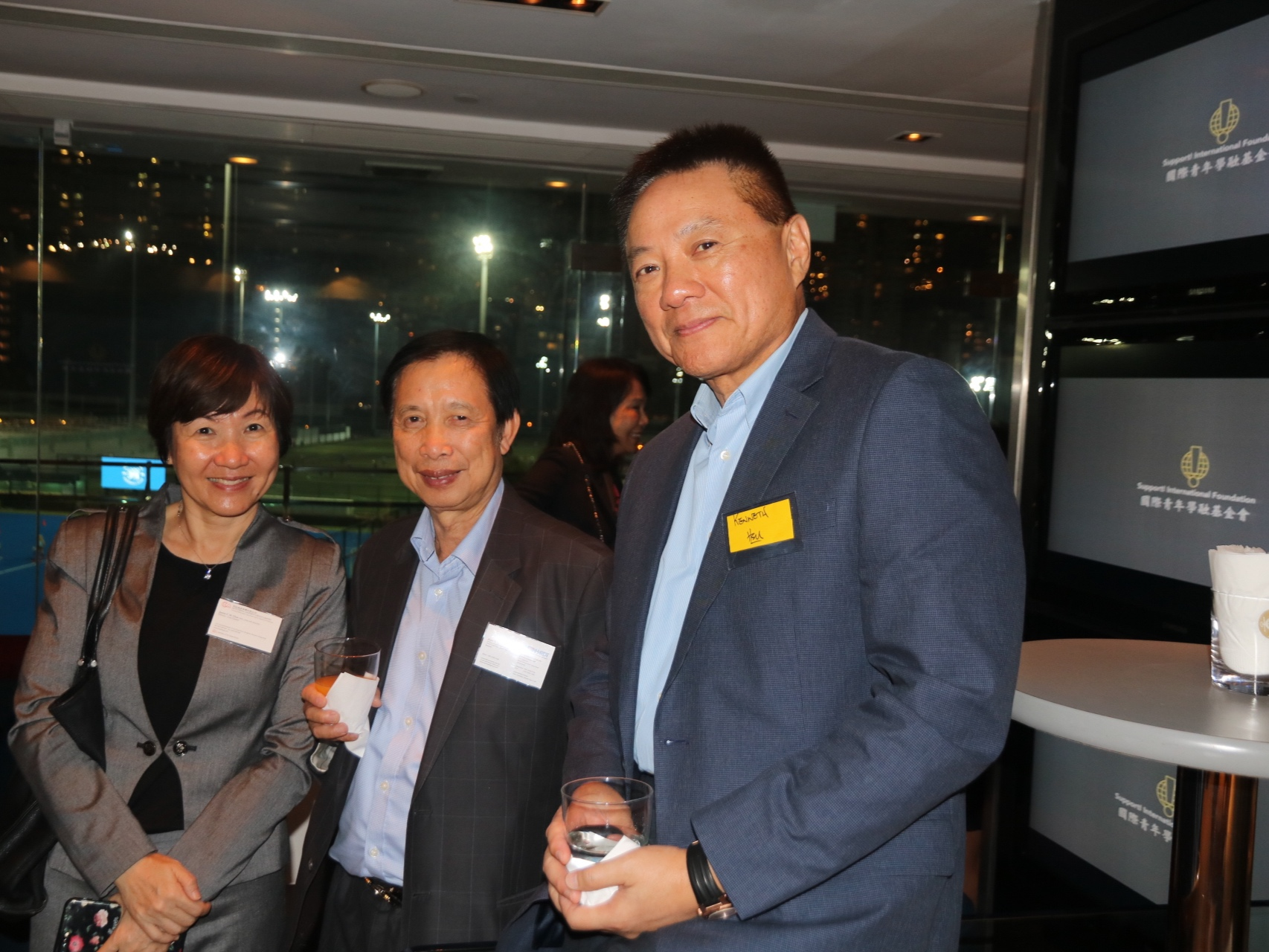 Janice Chan, Director, Cost Control at Hutchison Property Group Limited; Alan Wan, Director, Meinhardt China'; Kenneth Hsu