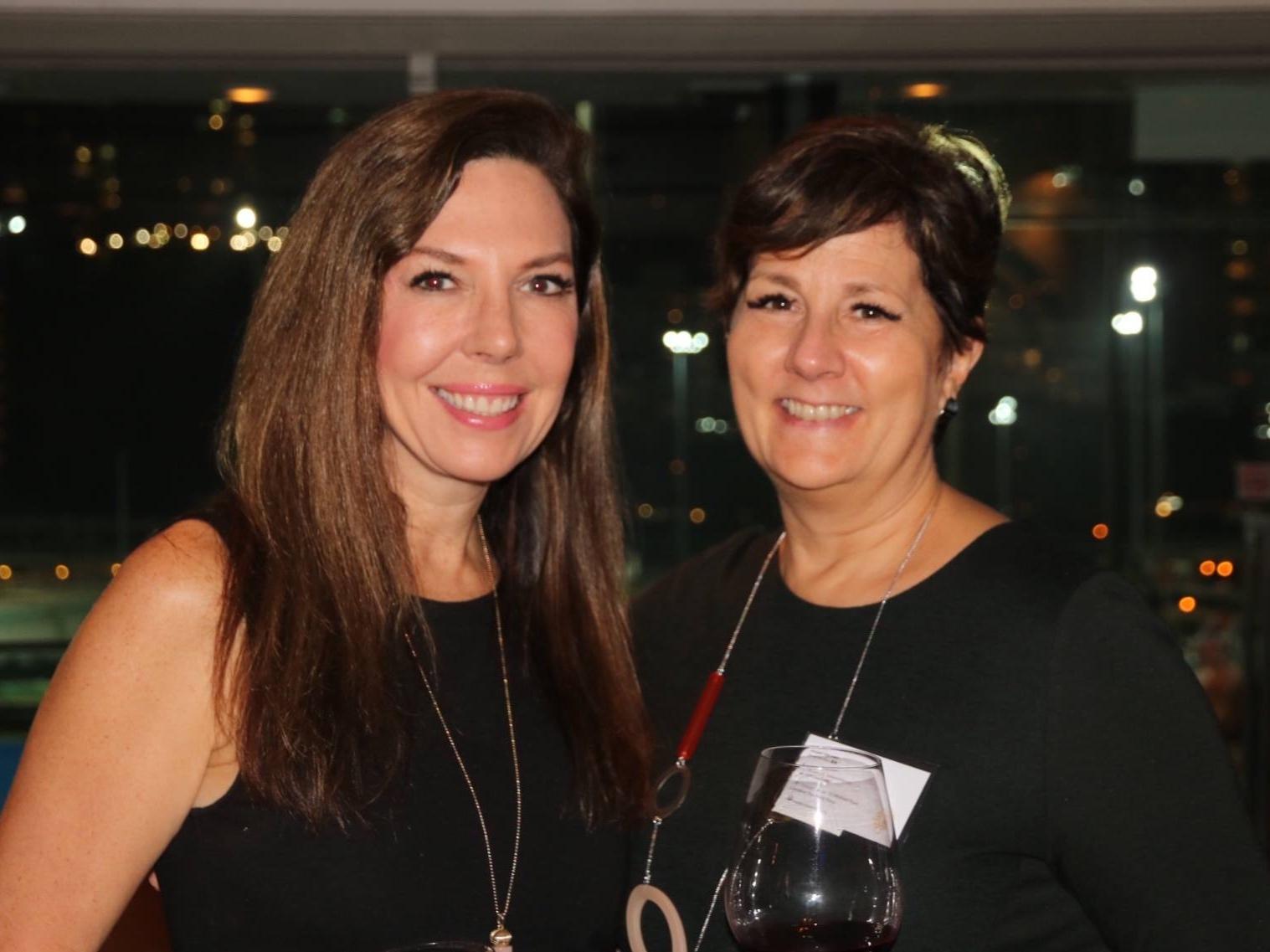 Director Abigail DeLessio with Lynne Anne Davis, President of FleishmanHillard APAC