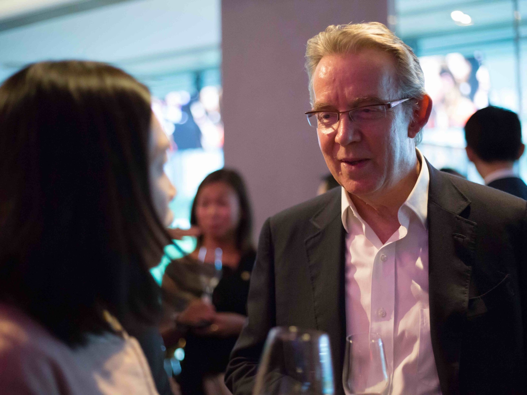 Nicholas Sallnow-Smith (ex-CEO North Asia of Standard Chartered; ex-Chairman, Link REIT)